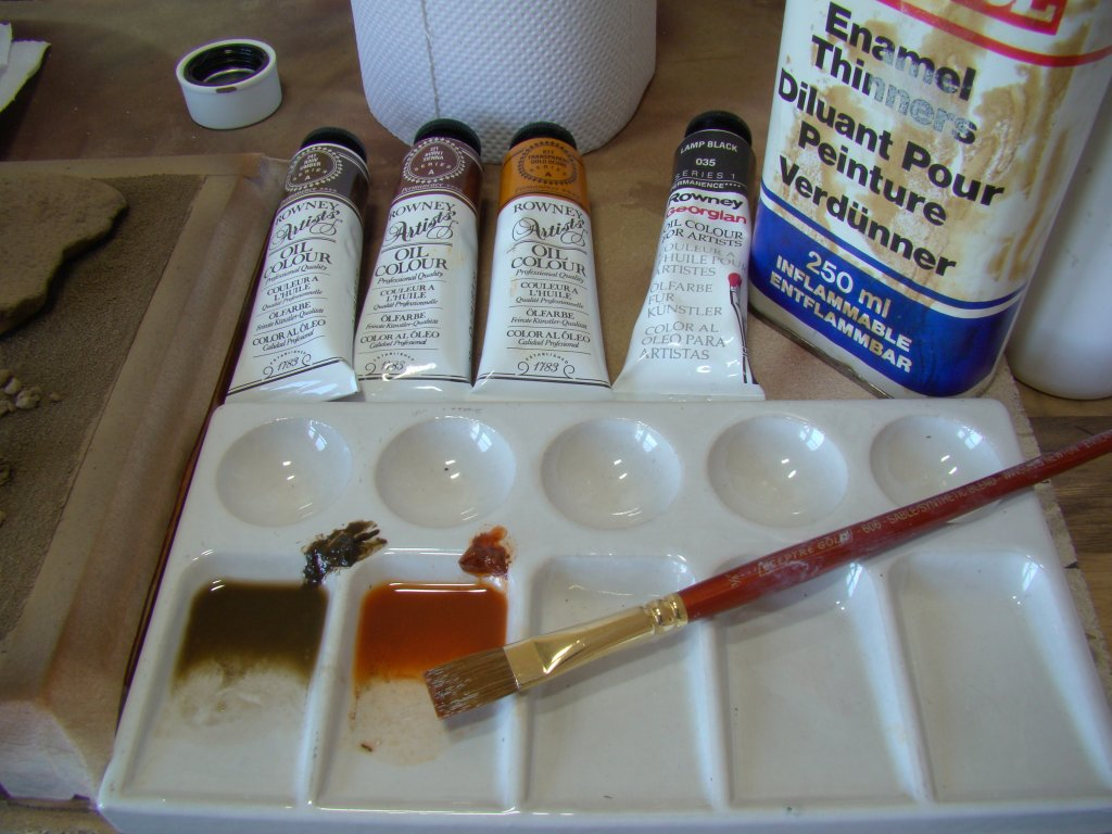 Oil Paint Wash